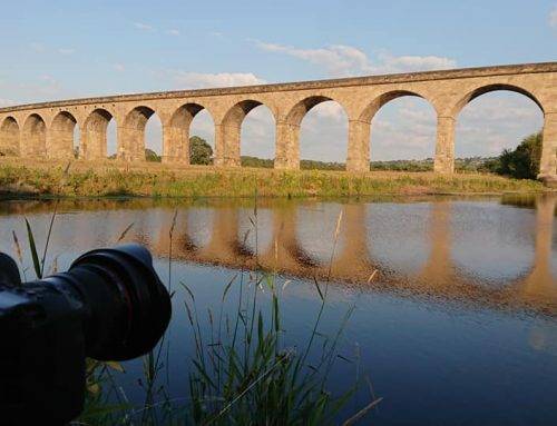Arthington Viaduct with something a little different.