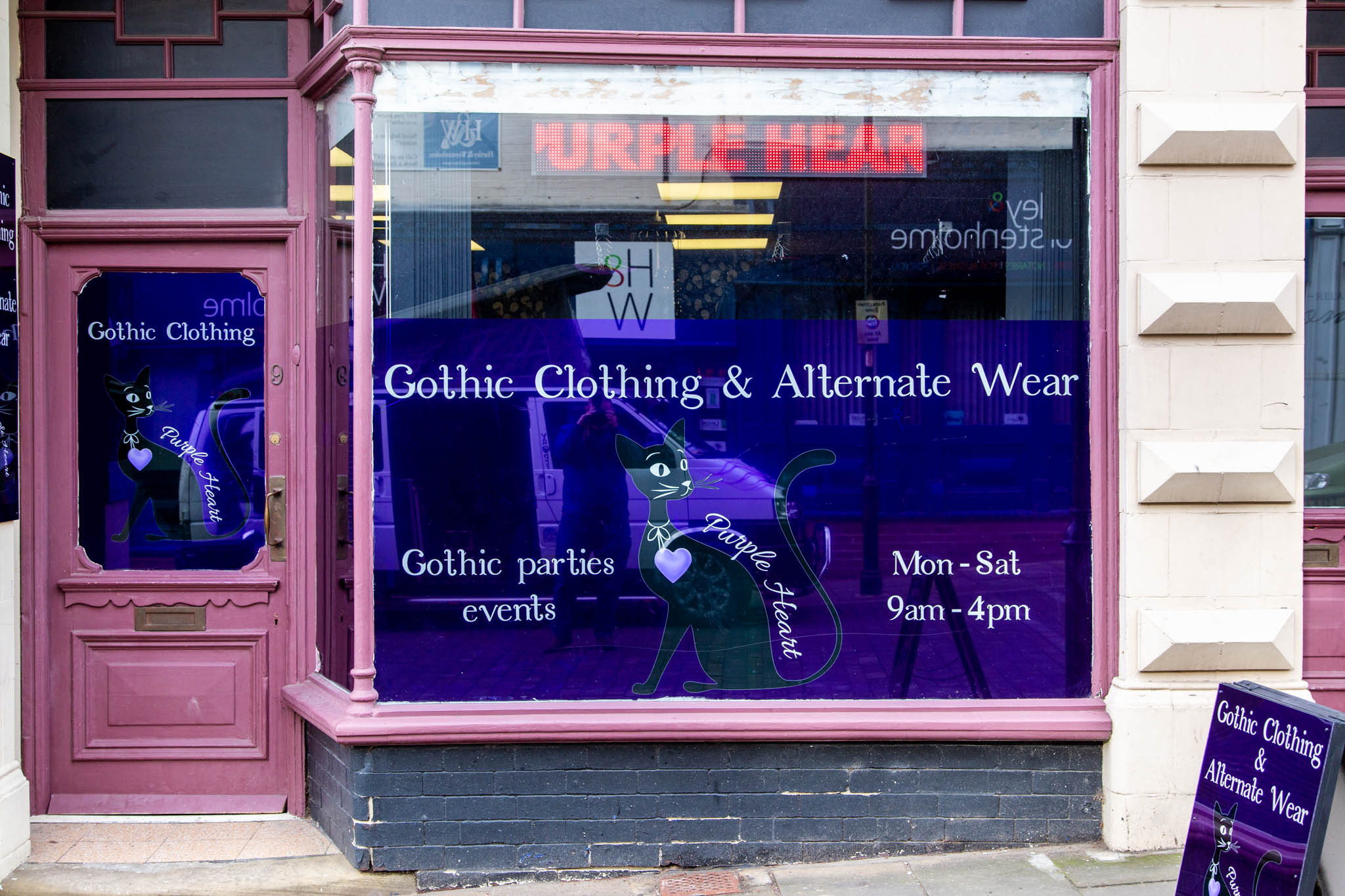 purple heart goth shop