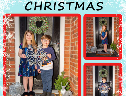 A Family Doorstep Christmas