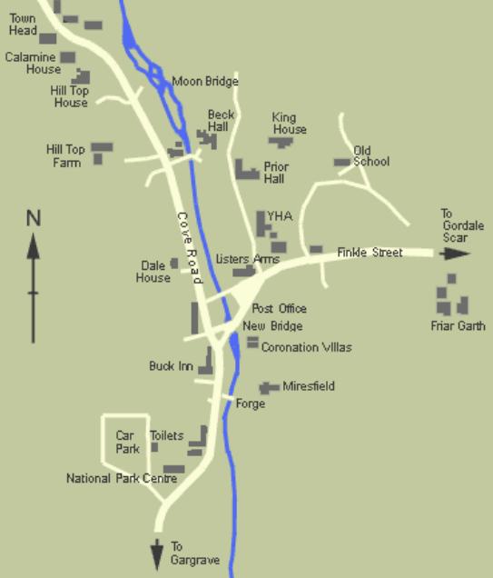 malham village map